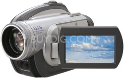 "VDR-D210 DVD Camcorder With 32x Optical Zoom, 2.7"" LCD Screen - OPEN BOX"