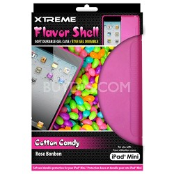 Cotton Candy Flavor Shell Soft Durable Gel Case for the iPad Mini