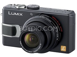 "DMC-LX2 (Black) Lumix 10.2 MP Digital Camera w/ 2.8"" TFT LCD *(Refurbished)"