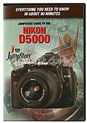 JumpStart Video Training Guide on DVD for the Nikon D5000 Digital Camera