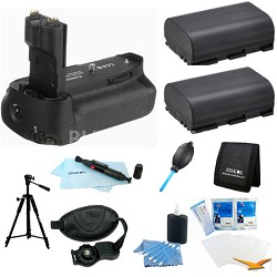 Ultimate Battery Grip Bundle for the EOS 7D Digital SLR Camera