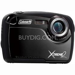 "16MP Waterproof Digital Camera with 2.5"" LCD Screen HD Video (Black) C12WP-BK"
