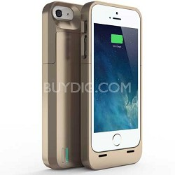 DX-05-2300B Protective Battery Case for iPhone 5 - Gold
