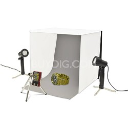 CUBE Tabletop Studio Tent with Lighting & Tripod Kit