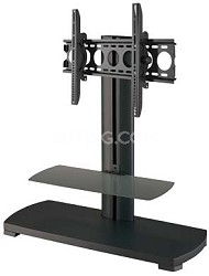 "PFFPb-01 - A/V Stand for 30"" to 50"" flat panel TVs w/ two shelves (Black)"
