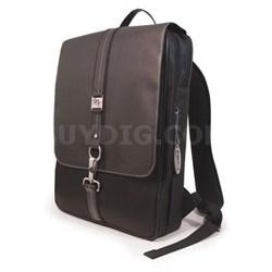 "16"" Paris SlimLine Backpack in Black - MEBPW1-SL"