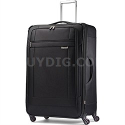 "SoLyte 29"" Expandable Spinner Upright Suitcase Luggage - Black"