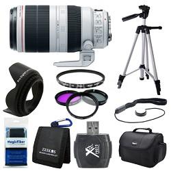 EF 100-400mm f/4.5-5.6L IS II USM Lens (9524B002) Deluxe Bundle