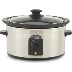 84384 4-Quart Oval-Shaped Crockery Cooker