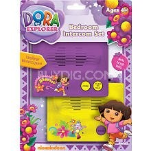Dora the Explorer Bedroom Intercom Set