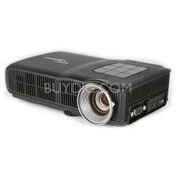 Optoma ML300 Mobile LED Projector, WXGA 1280 x 800 Resolution, 300 ANSI Lumens