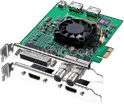 DeckLink Studio 2 SD/HD Broadcast Video PCI Express Capture Card