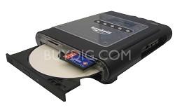 Burnaway Portable Memory Card to CD Burner