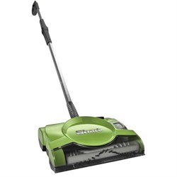V2930 10-inch Rechargeable Floor and Carpet Sweeper - Green