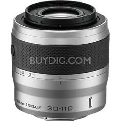 1 NIKKOR 30-110mm f/3.8 - 5.6 VR Lens Silver (Refurbished)