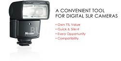 Di466 Speedlight for Canon Digital SLR Cameras, Guide number 109