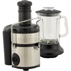 7010 - Stainless-Steel 800-Watt Juice Extractor with Blender Attachment