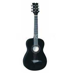 Playmate Mini Acoustic Classic Guitar -  Black - 3/4-Size with Gig Bag