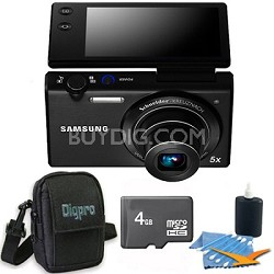 "MV800 16.1 MP 3.0"" MultiView Compact Digital Camera Black 4GB Kit"
