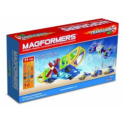 63089 Transform 54pc Magnetic Construction Set