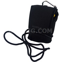 Sporty Neoprene Camera Case with Clip and Strap for Finepix XP Cameras