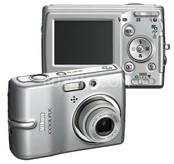 Coolpix L10 Digital Camera (Silver)