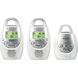 DM221-2 Safe & Sound Digital Audio Baby Monitor with Two Parent Units