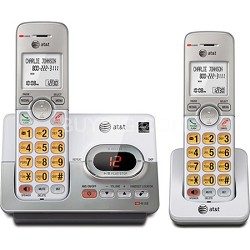EL52203 2 Handset DECT 6.0 Cordless Telehone with Caller ID/Call Waiting