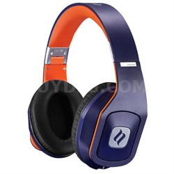 Hammo Over Ear Stereo Hi-Fi Stereo Headphones (Blue) - OPEN BOX
