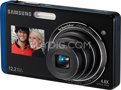 TL220 DualView 12MP 3.0 inch Touchscreen LCD Digital Camera (Blue)