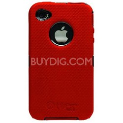 Defender Case for iPhone 4 (Red)