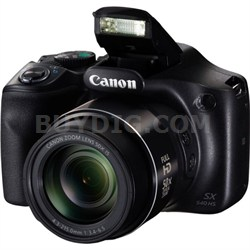 PowerShot SX540 HS 20.3MP Digital Camera w/ 50x Optical Zoom and Built-In Wi-Fi