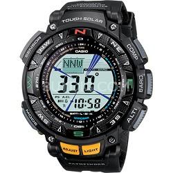 "Men's PAG240-1 ""Pathfinder"" Triple Sensor Multi-Function Sport Watch - Black"