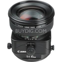 TS-E 45mm f/2.8 Tilt Shift Lens for Canon SLR Cameras
