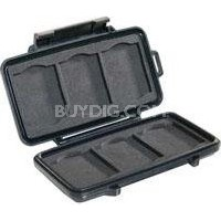 0945 Memory Card Case for 6 CF Memory Cards - Black - OPEN BOX