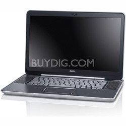 X15Z-7500ELS - XPS 15z Notebook PC Intel Core i5-2410M - Elemental Silver