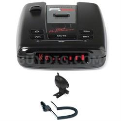 PASSPORT S55 Radar/Laser Detector with Accessories Combo Bundle (Red)
