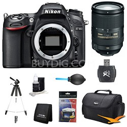 "D7100 DX-Format Digital HD-SLR Body w/ 3.2"" LCD Monitor 18-300mm VR Pro Lens Kit"