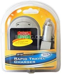 Digital Concepts AC/DC Rapid battery charger for Olympus Li-50 & Nikon EN-EL11