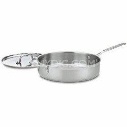 MCP33-30H - Multiclad Pro Stainless 5-1/2-Quart Saute with Helper and Cover
