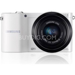 NX1100 20.3MP White Smart Digital Camera with 20-50mm F/3.5-5.6 ED II Lens
