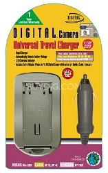 Digital Concepts AC/DC Battery Charger for Kodak and Casio Lithium Batteries