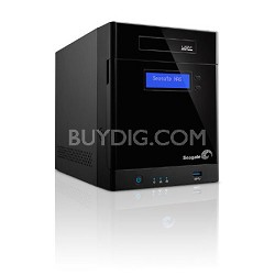 Business Storage NAS 4-Bay Diskless Network Attached Storage Enclosure STBP100