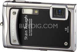"Stylus Tough 8000 12MP 2.7"" LCD Digital Camera (Black)"