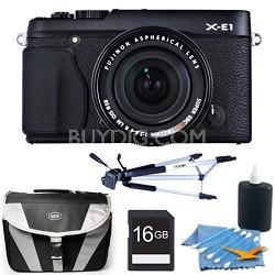 X-E1 16.3MP Digital Camera with 18-55mm Lens Black 16GB Kit