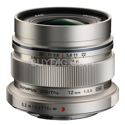 M. Zuiko Digital ED 12mm f/2.0 Lens for Micro Four Thirds Cameras