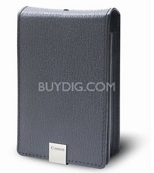 PSC-1000 Grey Deluxe Leather Case for SD1200 IS, SD1100 IS, SD960 IS, SD770 IS