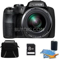 FinePix SL1000 16 MP Full HD 1080/60i Movie Digital Camera 8GB Kit