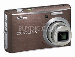 Coolpix S610 Digital Camera (Smoke Gray)