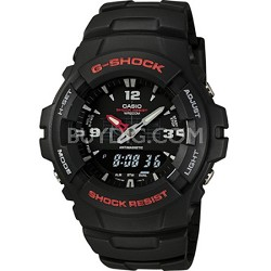 G100-1BV - Mens's G-Shock Ana-Digi Black Watch